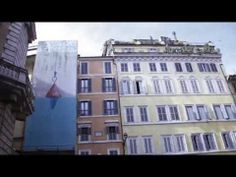 FLO- Davide D'Elia for Art is Real - Video: https://www.youtube.com/watch?v=SHs8YTS4Lls - #Rome #Piazza Pasquino #PiazzaNavona