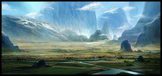 Farms by SebastianWagner.deviantart.com on @deviantART