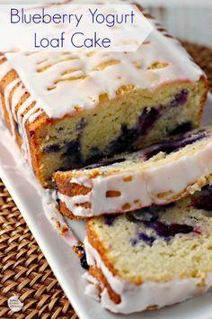 Blueberry Yogurt Loaf Cake