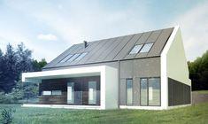 Gotowy projekt domu piętrowego FX-07 - NANOstudio®