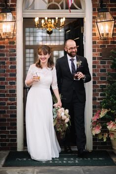 Bride & groom welcome speech | Morris House Hotel wedding | Heart & Dash | Wedding Planners serving the Philly, New York, Baltimore and beyond