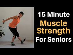 Pick up your weights and challenge yourself with these senior muscle strengthening exercises to ward off atrophy and osteoporosis. --Find more FREE workout v. Fitness Tips For Men, Fitness Workout For Women, Health And Fitness Tips, Fitness Workouts, Hip Strengthening Exercises, Balance Exercises, Chair Exercises, Stretches, Strength Workout