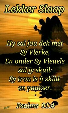Evening Quotes, Goeie Nag, Angel Prayers, Afrikaans Quotes, Night Wishes, Good Night Quotes, Bible Scriptures, Psalms, Sleep Tight