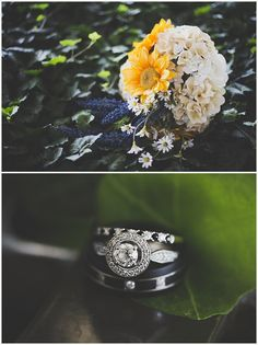 Photography & Design By Lauren- an on location photographer specializing in Weddings, Couples, High School Seniors, Families and Models based in Indiana 502.230.1907 | A July wedding at Southeast Christian Church + UofL Founders Union Building, Louisville KY - Flower and Ring shots