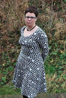 Zu Silvester mit dem dem Basic Winterkleid, Schnitt: Kibadoo