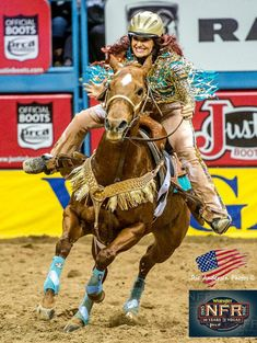 Love this gal! Click to see why barrel racers love our products. www.o3animalhealth.com