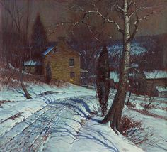 """GEORGE WILLIAM SOTTER, (AMERICAN 1879-1953), """"THE - by Freeman's"""