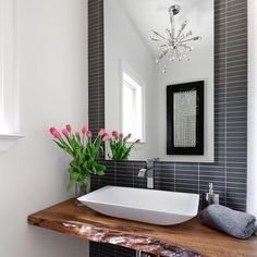 Small Powder Room Ideas | Toronto Powder Room small kitchen Design Ideas, Pictures, Remodel and ...