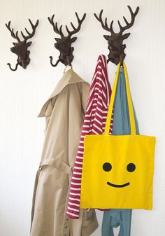 Canvas Lego Tote Bag