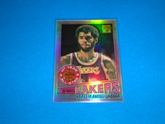 2001-02 Topps Chrome Kareem Abdul-Jabbar Refractor Reprint '77-'78: Card is # 1.  All cards in NRMINT-MINT condition. Any questions feel free to ask. SMOKE FREE HOME!  All cards are put in a top loader and shipped in a bubble wrapper envelope!  Be sure and check my store on a regular basis to see what new items I have posted. THANK YOU!...