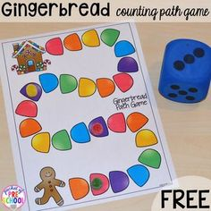 Grab them before they are gone! Everything ends at midnight. FREE Gingerbread Path Games off Gingerbread Bundle off Gingerbread Centers off Gingerbread Book: Retelling, Comparing, & Writing Gingerbread Man Activities, Gingerbread Crafts, Christmas Activities, Thanksgiving Activities, Gingerbread Houses, Gingerbread Cookies, Christmas Math, Preschool Christmas, Preschool Themes