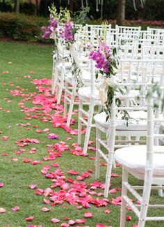 Wedding Aisle Decorations | Weddings Romantique