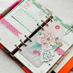 Bits and Pieces...: My New Orange Filofax