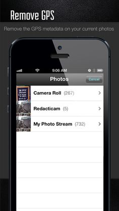 Remove GPS metadata on your current photos.
