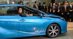 Toyota Delivers First Mirai Fuel Cell Vehicle to Japanese Prime Minister [w/Video]