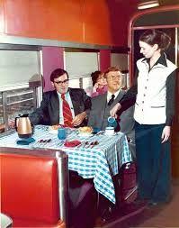 dining car 1976
