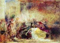 Death of Petronius - Konstantin Makovsky