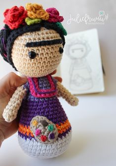 This item is unavailable Doll Amigurumi Free Pattern, Crochet Doll Pattern, Amigurumi Doll, Crochet Motif, Crochet Designs, Crochet Mandala, Crochet Afghans, Crochet Blankets, Crochet Stitches