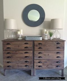 Restoration Hardware-Inspired IKEA Console Hack for the Entryway | SheKnows