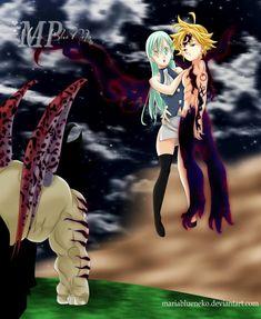 862f8d3e Seven Deadly Sins Anime, 7 Deadly Sins, 7 Sins, Meliodas, Demon King
