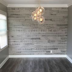 Kitchen gray shiplap walls wall decor kitchen wall ideas smart kitchen wall decor ideas rustic home . Living Room Grey, Living Room Decor, Living Rooms, Apartment Living, Apartment Kitchen, Living Room Accent Wall, Apartment Therapy, Home Bedroom, Bedroom Decor