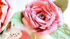 Λουλούδια από χαρτί!