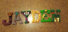 Ninja Turtles Wooden Letters