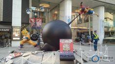 《週刊少年》45週年 魯夫和悟空在東京街頭開打啦!