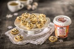 Višňové košíčky s griotkovým krémom - Recept Cereal, Breakfast, Food, Basket, Morning Coffee, Meals, Yemek, Corn Flakes, Eten