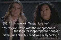 My Favorite Grey's Moments - Cristina's heart lives in the scalpel
