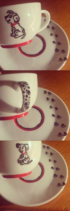 Disney Dalmatian Teacup