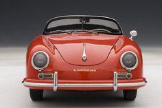 AUTOart: 1957 Porsche 356A Speedster European Version - Red (77864) in 1:18 scale
