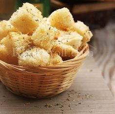 How To Make Croutons At Home   Homemade Croutons