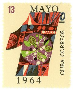 Cuba postage stamp  1964