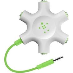 30 Fun & Useful Gadgets Under $30 #refinery29  http://www.refinery29.com/best-tech-gadgets#slide-9  This headphone splitter is perfect for when you and a friend (or four!) want to plug in to listen to music, or watch a show together on an airplane. Belkin RockStar Multi Headphone Splitter, $14.99, available on Belkin.com....