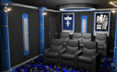 Home Theater Decor, and Complete Theater Packages