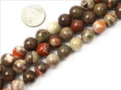 10mm Round Gemstone flower agate beads strand 15″. These are genuine stone beads.  Size and color may be a little different. Beads Strand for Jewerly DIY or Making & Design. Find now at http://glam-beadsandcharms