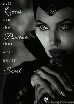 Evil queens need more courage!