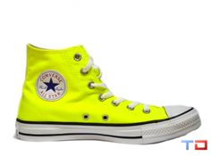 9b85211ad27 CONVERSE ALL STAR HIGH TOPS - ELECTRIC YELLOW