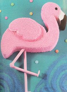 Paisley pan; flamingo