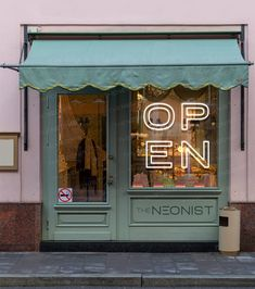 Storefront Signage, Window Signage, Store Signage, Retail Signage, Open For Business Sign, Business Signs, Led Open Sign, Open Signs, Lokal