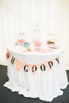 114 best wedding sweets sweetie tables images on pinterest country glamour black tie wedding junglespirit Gallery