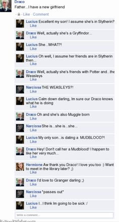 This is what would realistically would happen to Draco's parents if Dramione ever occurred...