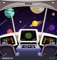 stock-vector-flying-spaceship-cabin-futuristic-interior-cartoon-with-space-backdrop-vector-illustration-216122929.jpg (1500×1600)