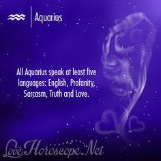 Love Quotes and Horoscope - Aquarius