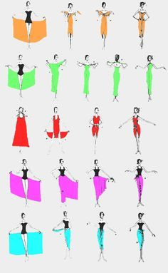 4c2be86c34e5a Different ways to wear a pareo #sheego Sarong Tying, Sarong Wrap, Diy Dress