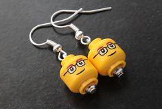 Lego earrings!