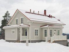 Aurora Nurmijärvellä Aurora, Victorian Homes, Home Fashion, My Dream Home, Beautiful Homes, House Plans, Sweet Home, Shed, Villa