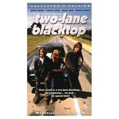 "Two-Lane Blacktop.  What a superb movie about the car culture and life in the early 70s.  It's as much about the end of the hippie era as it is about street racing.  Dennis Wilson of the Beach Boys, and James Taylor conning and street-racing a bad-ass '55 Chevy (incidentally, the very same '55 driven by Harrison Ford in ""American Graffiti"").  How great is that!"