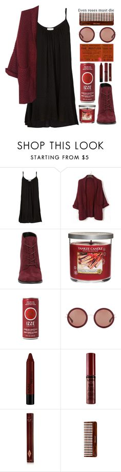 """""""► lisa"""" by amxnduhh ❤ liked on Polyvore featuring Velvet, Yankee Candle, The Row, NYX, Charlotte Tilbury and (MALIN+GOETZ)"""